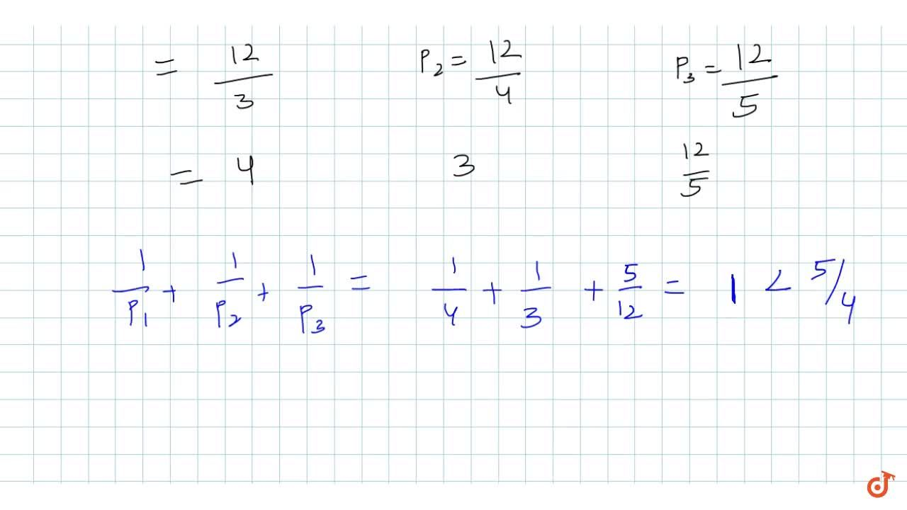 Solution for  If in a triangle ABC, a, b, c are in AP. and p