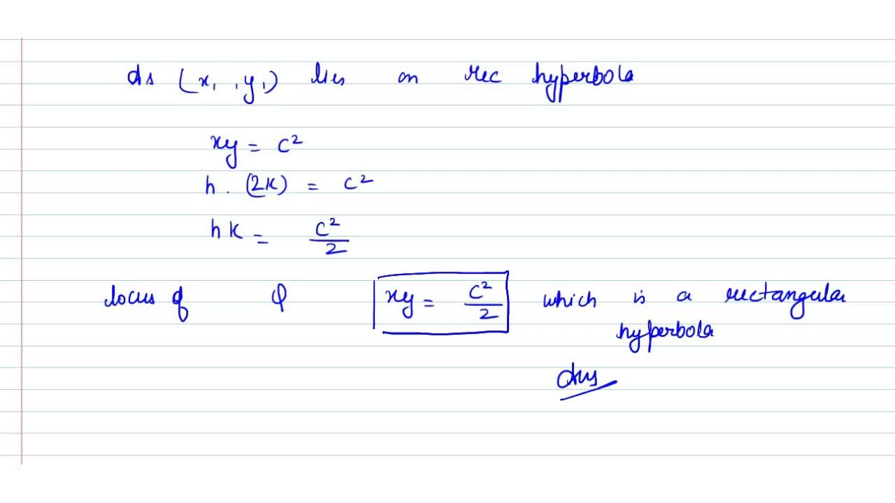 Solution for If P N is the perpendicular from a point on a re