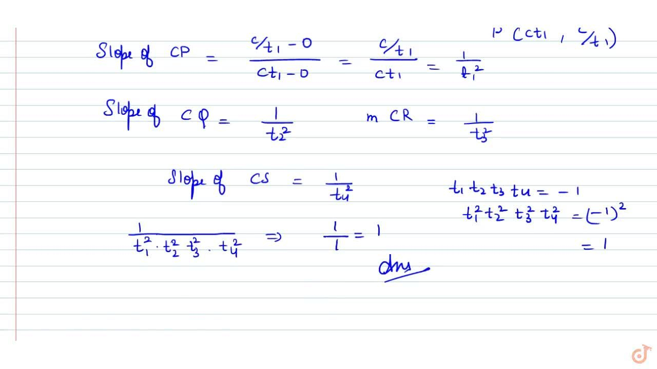 Solution for P Q and R S are two perpendicular chords of th