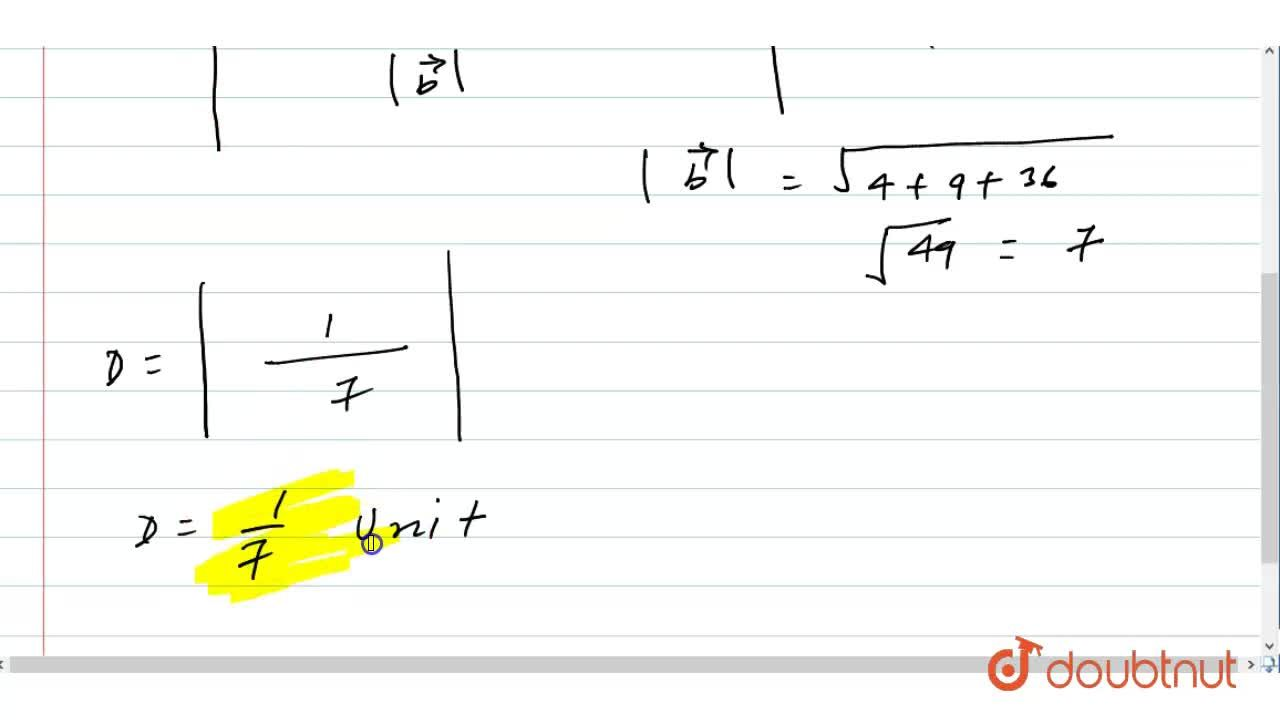 Solution for Find the distance between the lines l_1a n d\ l_2