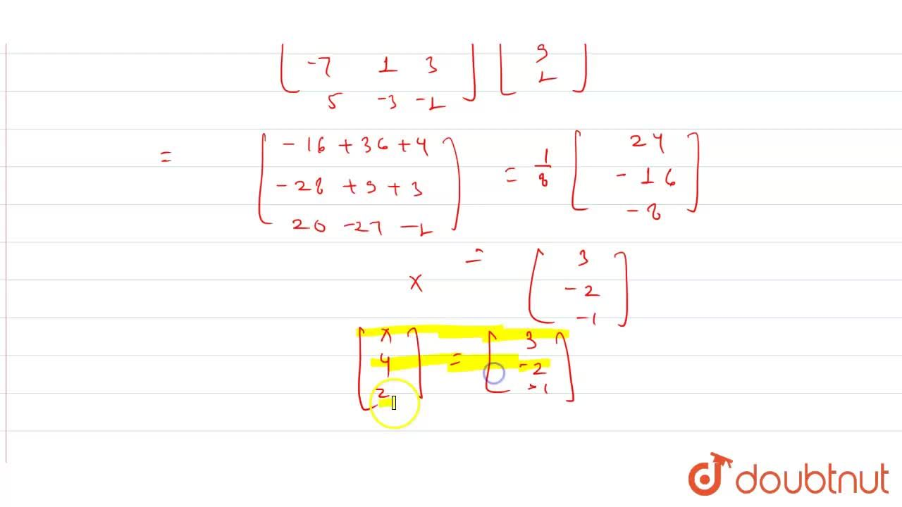 Solution for Determination the product [{:(,1,-1,1),(,1,-2,-2)