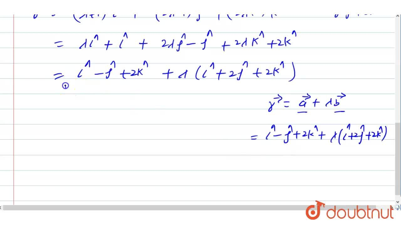 Solution for Find the Cartesian equation of a line passing thro