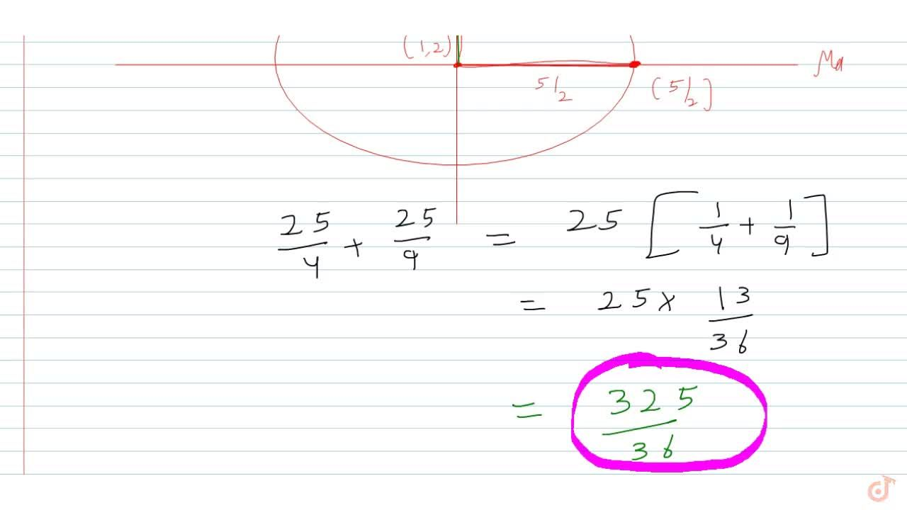 Solution for  Let  (x, y) be a variable point on the curve