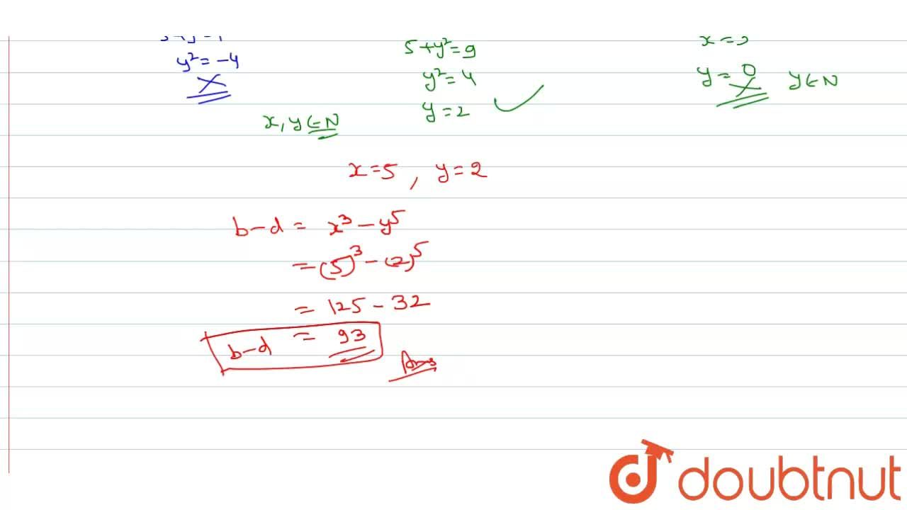 Solution for Let a, b, c, d be positive integers such that  lo