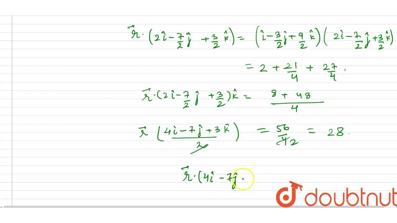 Solution for Find the equation of the plane which bisects the l
