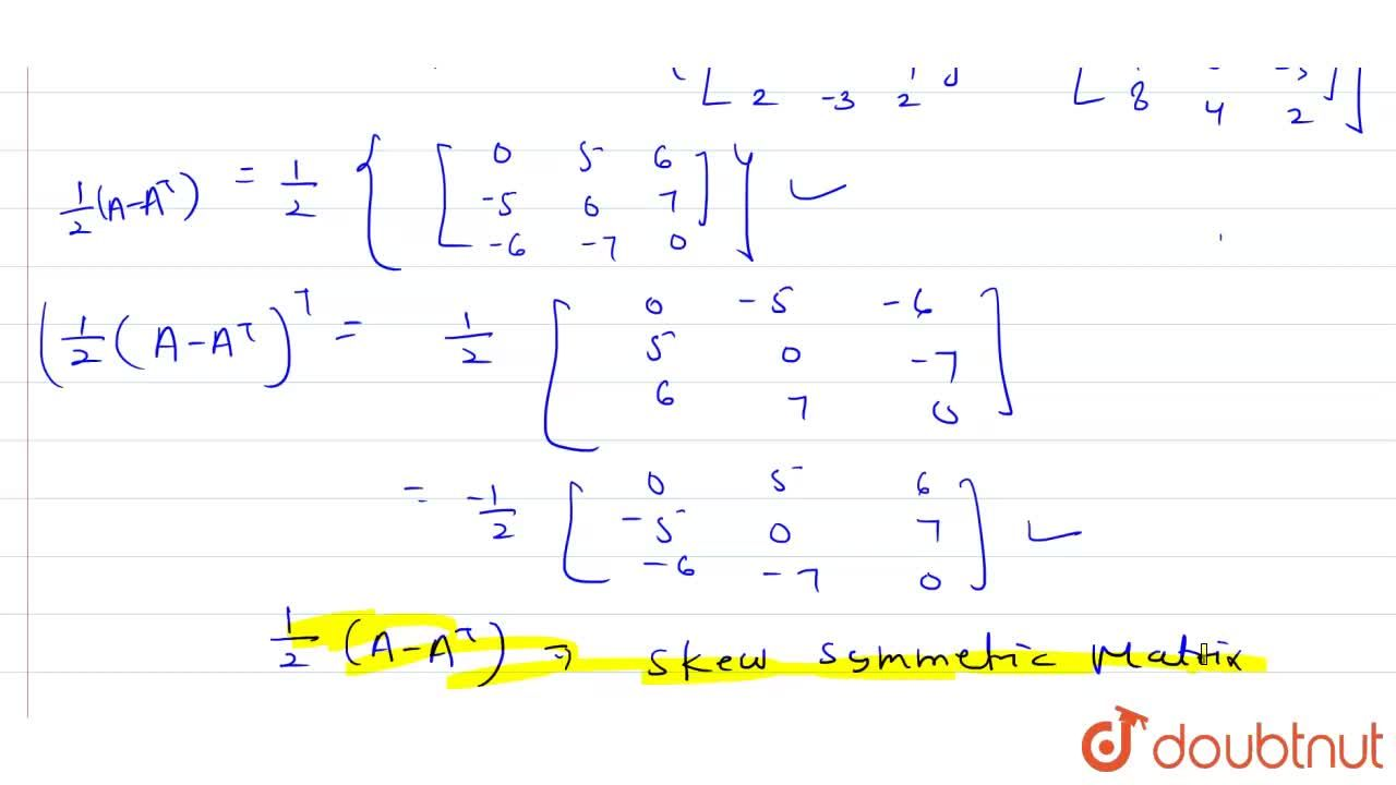 Solution for express  the following  matrices as a sum of  symm