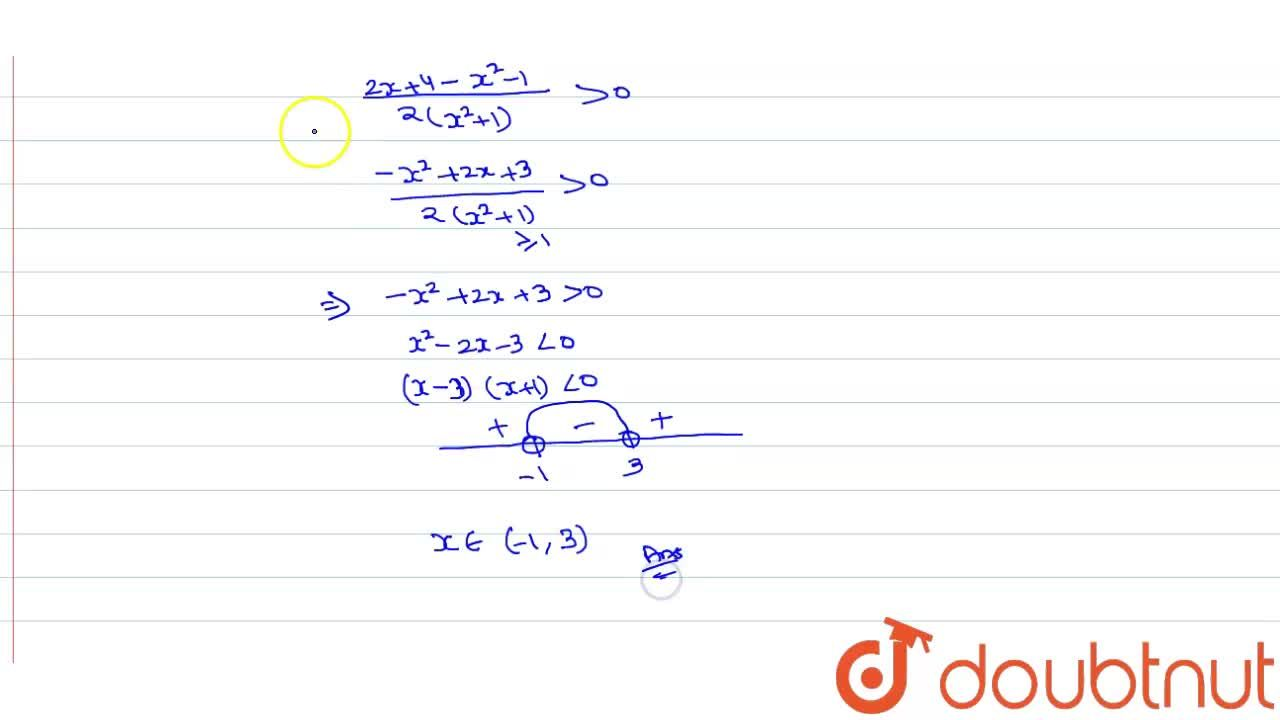 Solution for Solve (x+2),(x^2+1)gt 1,2