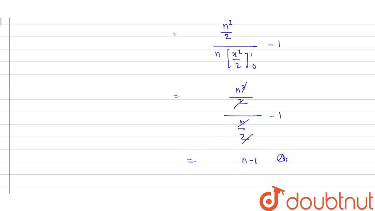 Evaluate (int_(0)^(n)[x]dx),(int_(0)^(n){x}dx) (where [x] and {x} are integral and fractional parts of x respectively and n epsilon N).