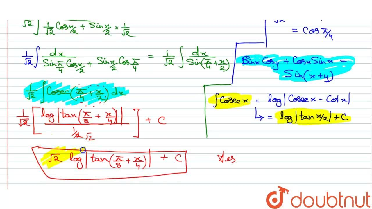 Solution for Evaluate  int(dx),((1+sinx)^(1,,2))