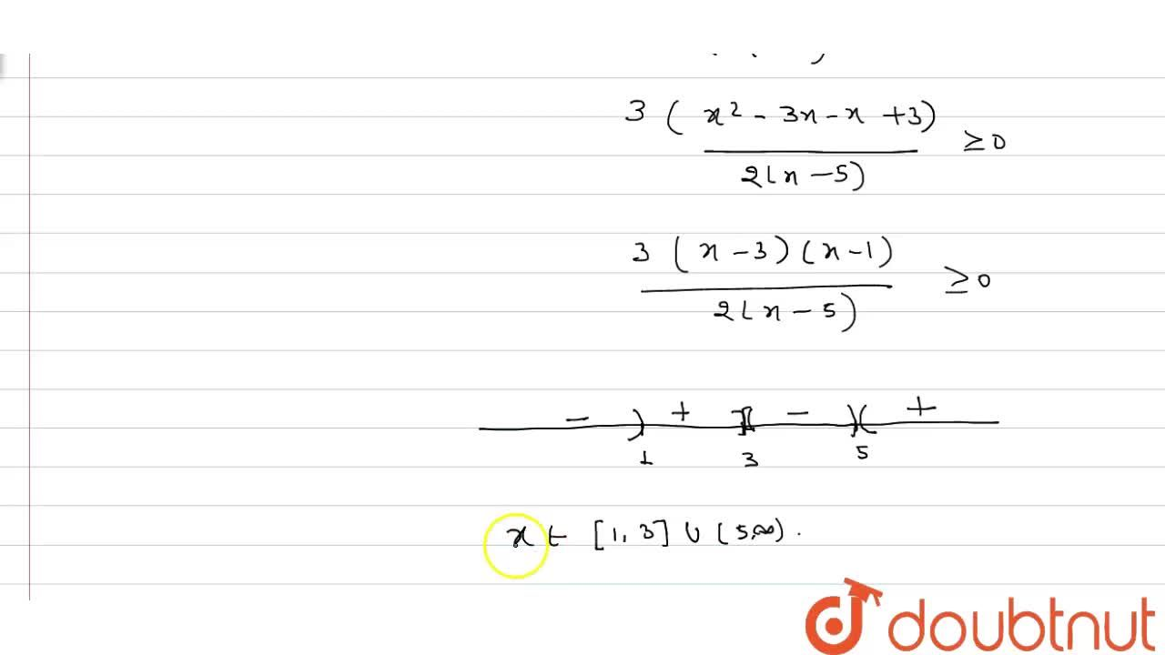 The solution of the inequality ((x+7),(x-5)+(3x+1),(2) ge 0  is