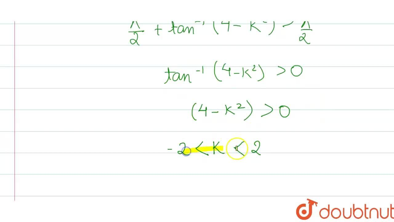 Solution for If sin^(-1) (x^(2) + 2x + 2) + tan^(-1) (x^(2) -
