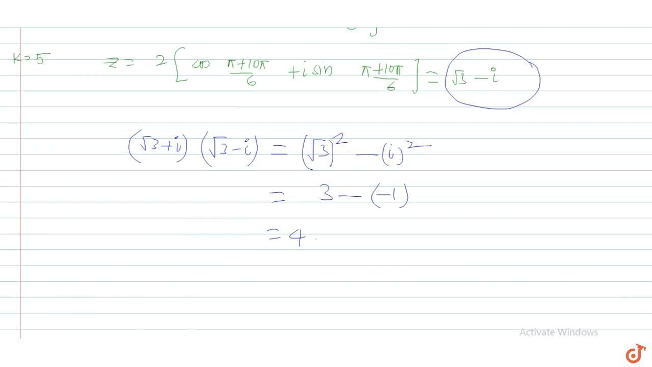 Solution for  If the six roots of  x^6 = -64 are written in t