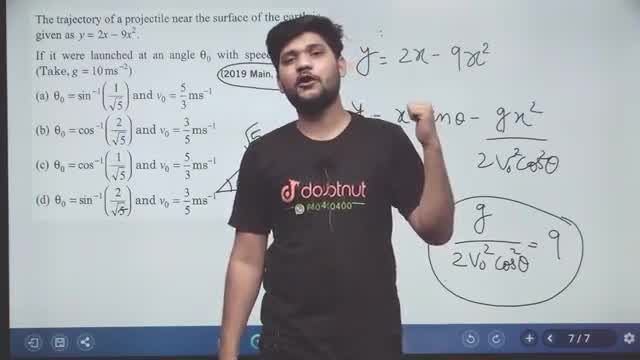 Solution for JEE MAINS 2020   JEE MAINS Previous Year Problems