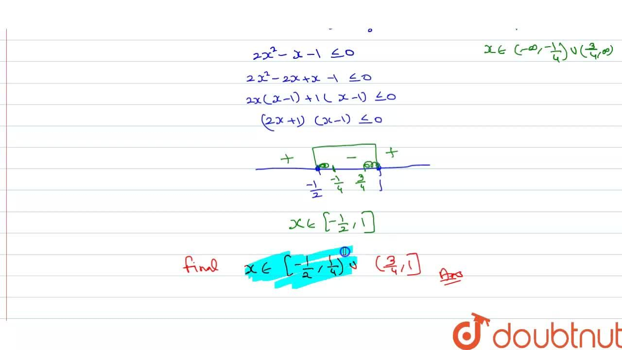 The solution set of the inequality log_(5,8)(2x^(2)-x-3,8) ge1 is-