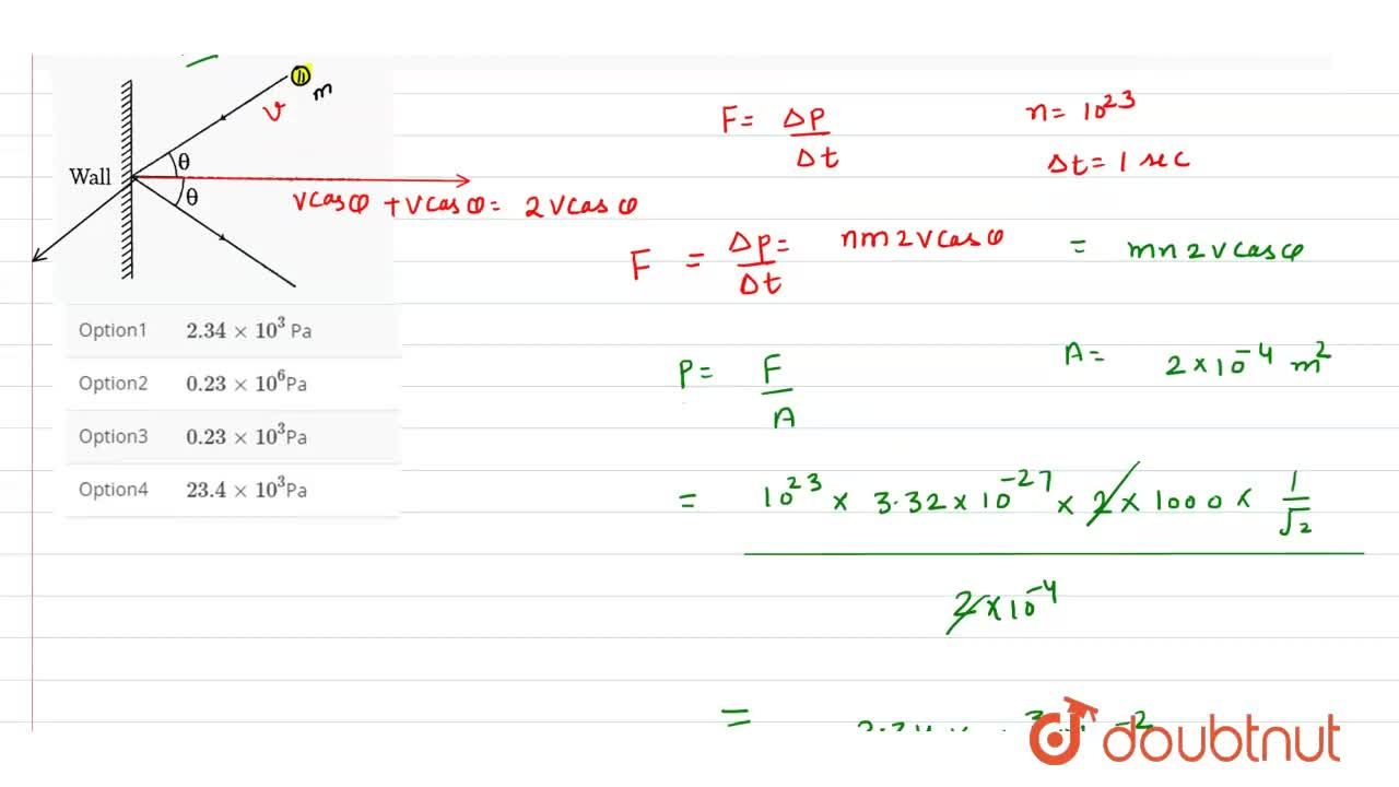 Solution for The mass of hydrogen molecule is 3.32xx10^(-27)
