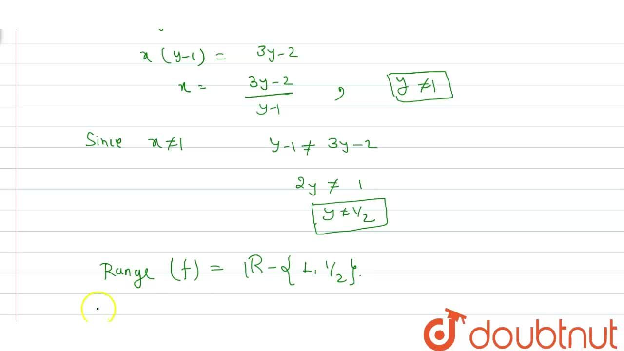 Find  the domain and range  function f(x) =(x^(2)-3x+2),(x^(2)-4x+3).