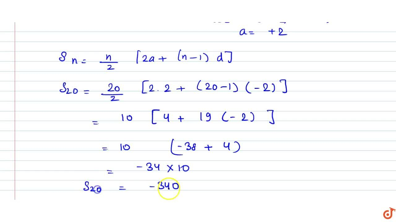 Solution for The 14th term of an A.P. is twice its 8th term. If