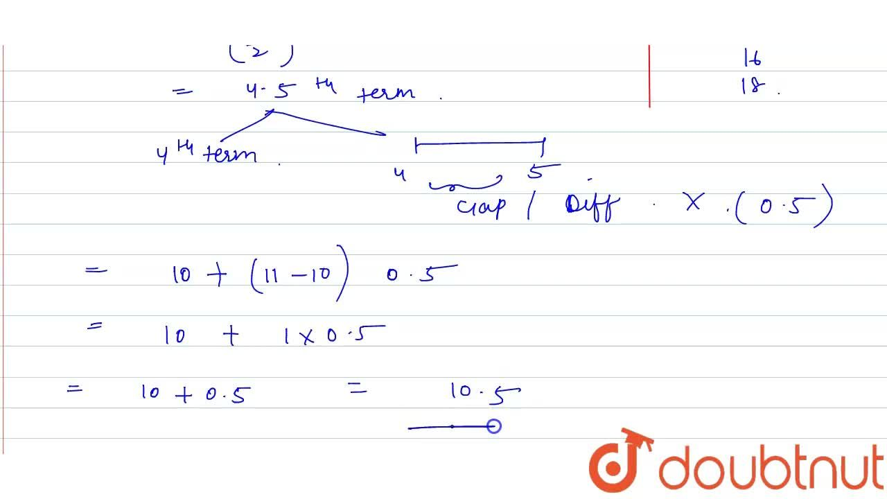 Solution for Find the median of the data 11, 5, 3, 13, 16, 9, 1