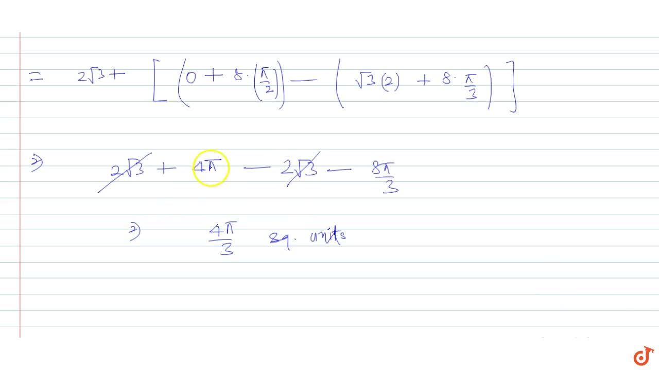 Solution for Find the area bounded by the circle x^2 + y^2 = 1