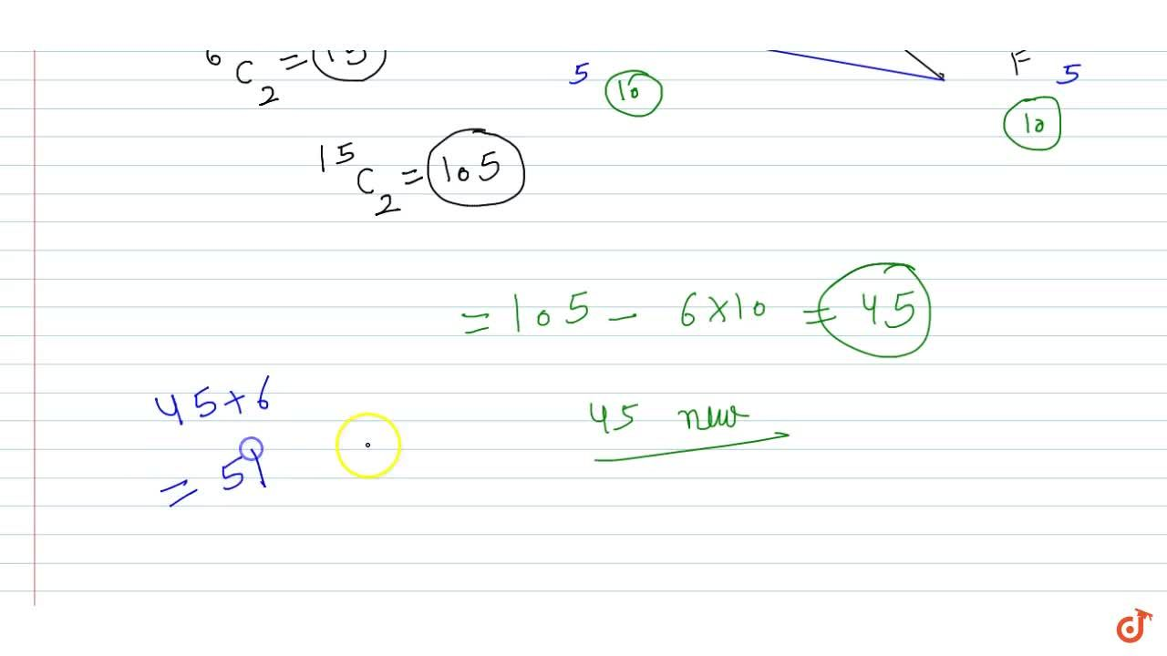 Solution for Six points in a plane be joined in all ppossible w