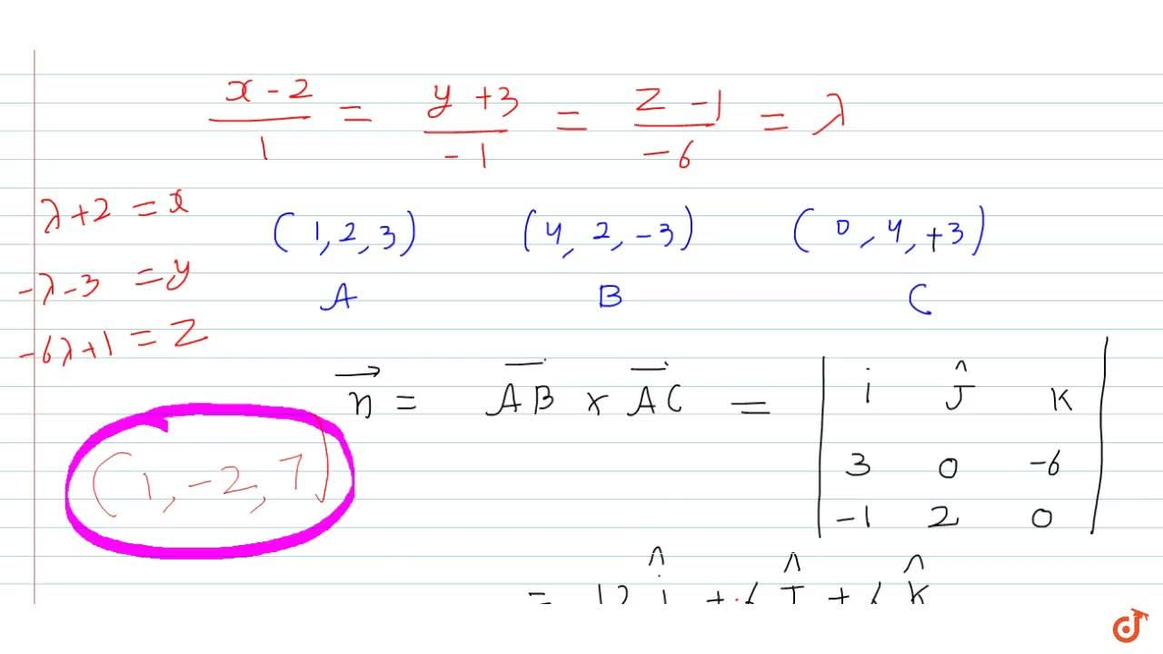 Solution for Find the coordinates of the point where the line t