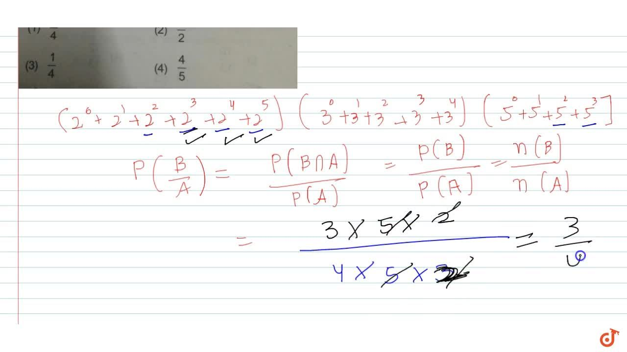 Solution for  A divisor of N = 2^5 3^4 5^3  is selected at ra