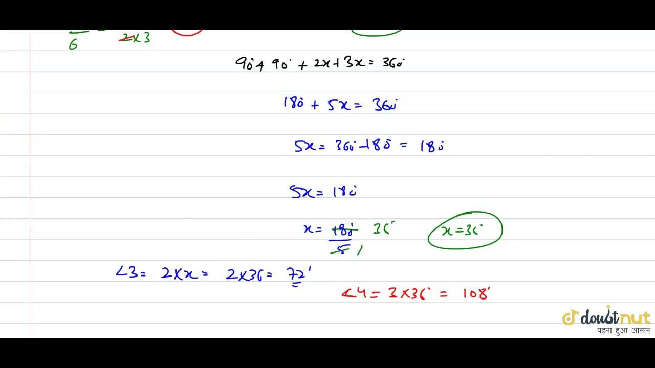 Solution for Two angles of a quadrilateral are 90^@ each. The