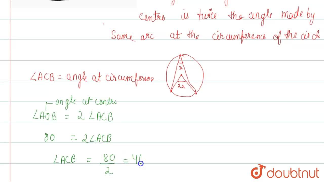 Solution for In the adjoining figure, O is the centre of the ci