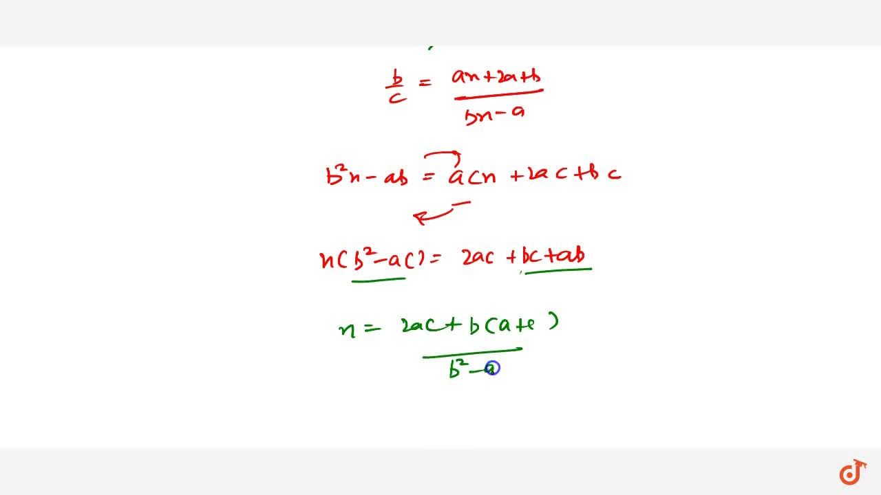 Solution for  l. If the coefficients of three successive terms