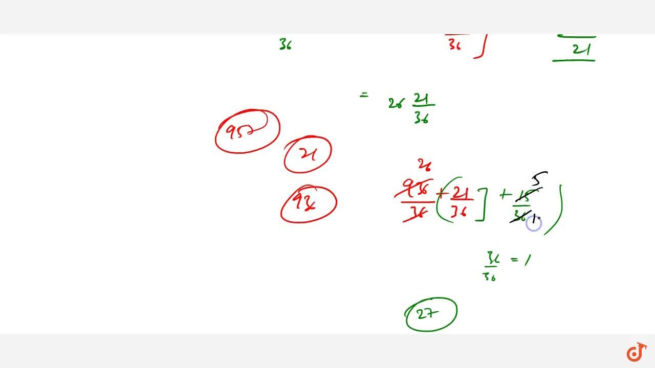 Solution for What least fraction should be added to 3 2,3+6 7,