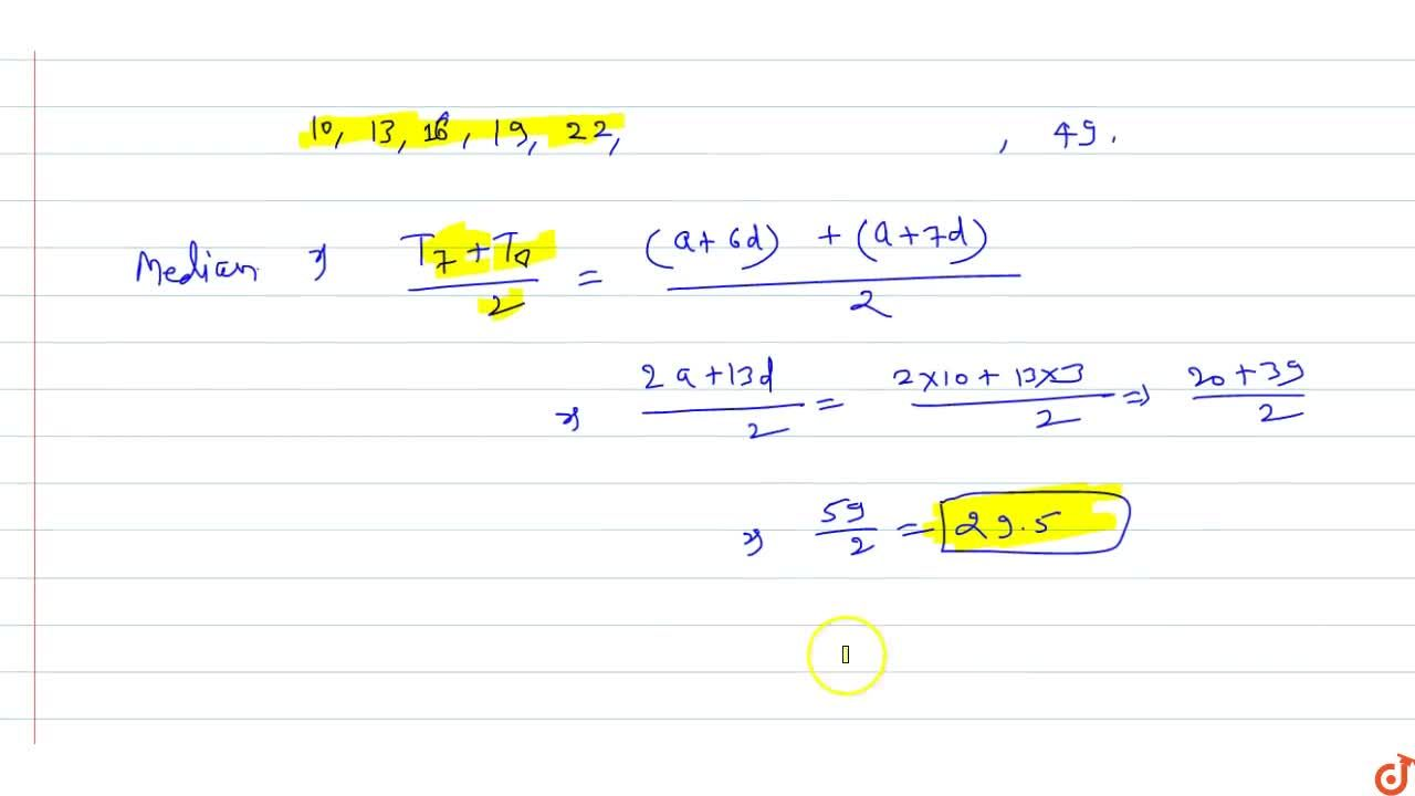 Solution for  Let the sum of the first three terms of an A.P be