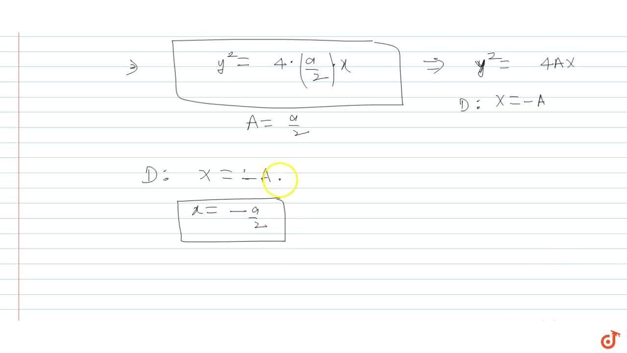 Solution for  The locus of the midpoints of all chords of the p