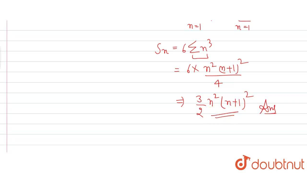 Find the sum to n terms of the series 1 *2 *3 + 2*4*6 + 3*6*9+...