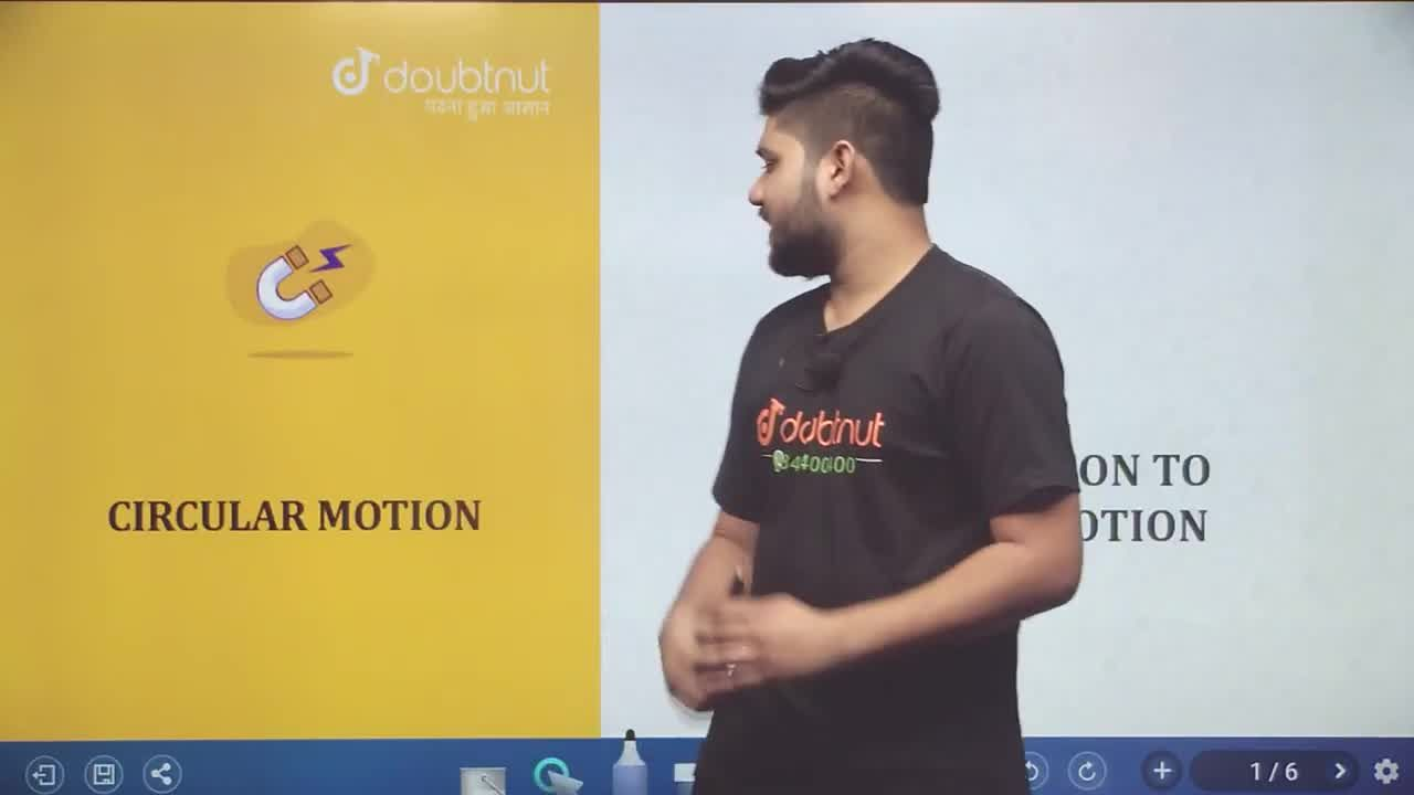Solution for Introduction To Circular Motion