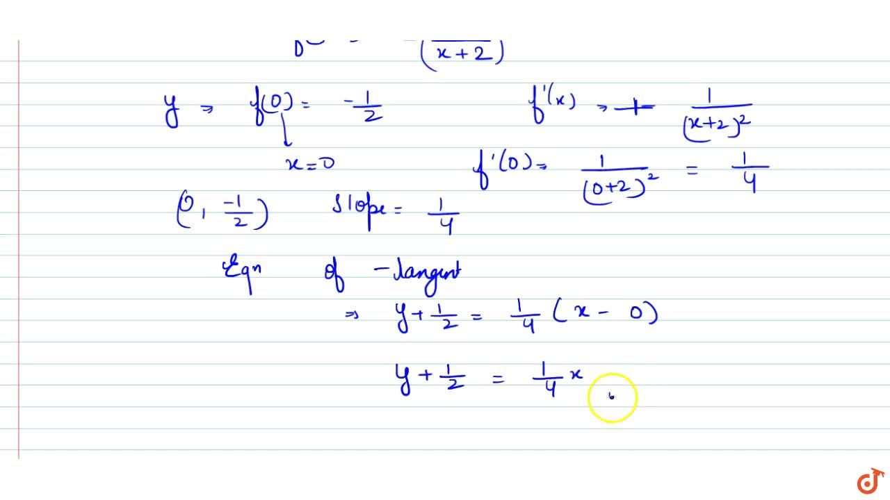 Solution for Determine a   differentiable function y\ =\ f(x)