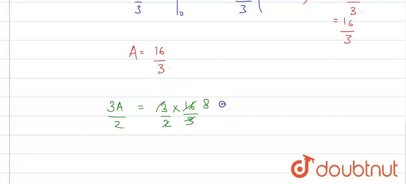 Solution for Let C be a curve passing through M(2,2) such that