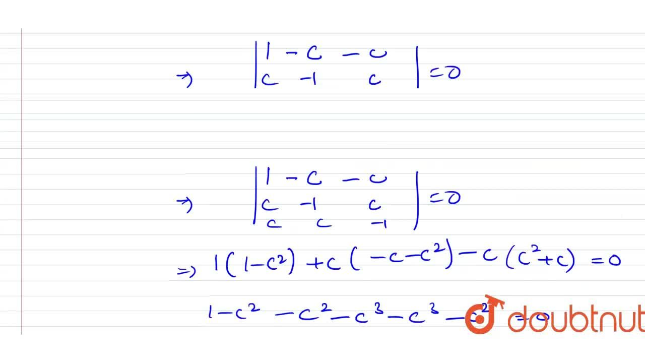 Solution for The greatest value of c in R for which the syste