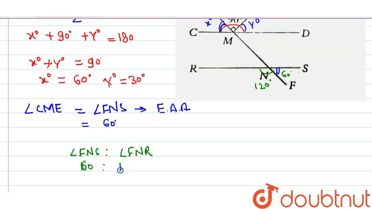 Solution for In the figure below ( not to scale)  bar(CD)||bar