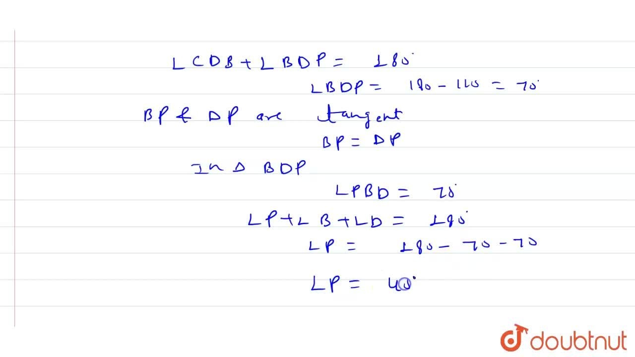 Solution for In the following figure (not a scale), AB=BD and