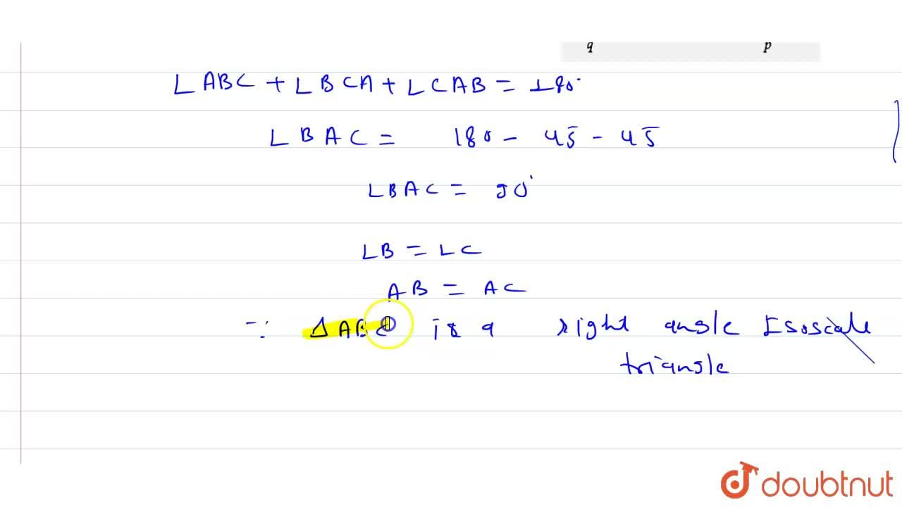 Solution for In the given figure, if l  m, then what type of a