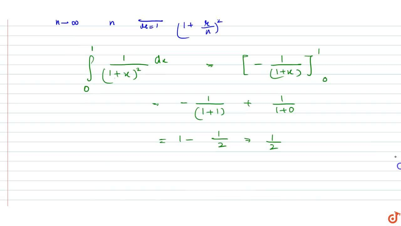 Solution for Evaluate: (lim)_(n->oo)[1,((n+1)^2\ )+1,((n+2)^2)
