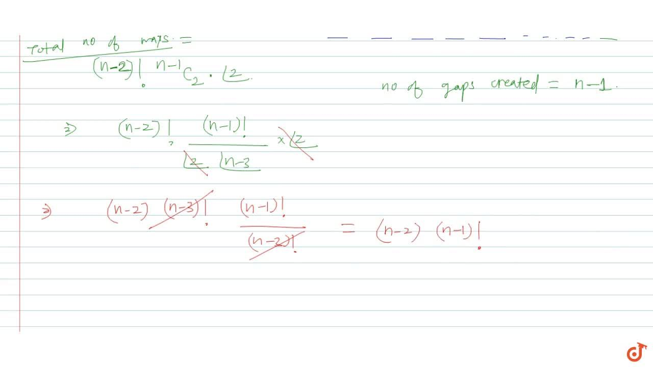 Solution for Show that the number of ways in which n books may