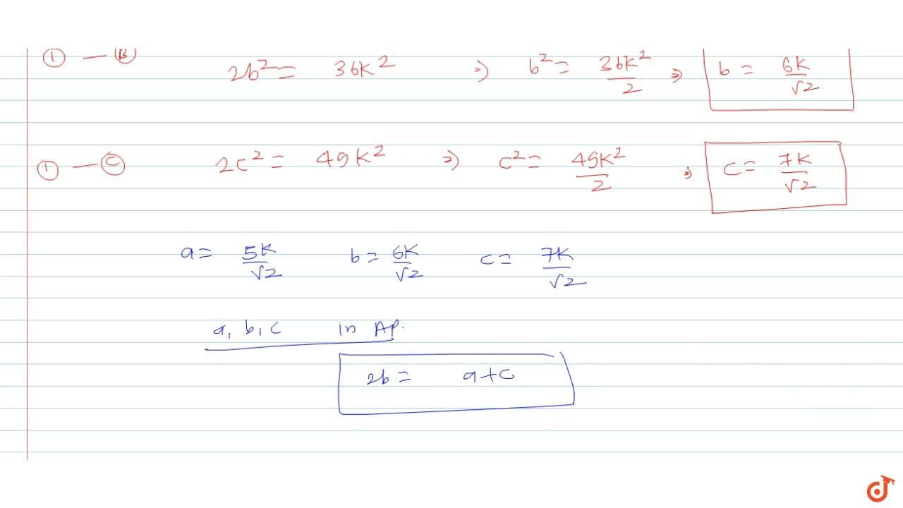 Solution for In a triangle ABC, if cotA :cotB :cotC = 30: 19 :