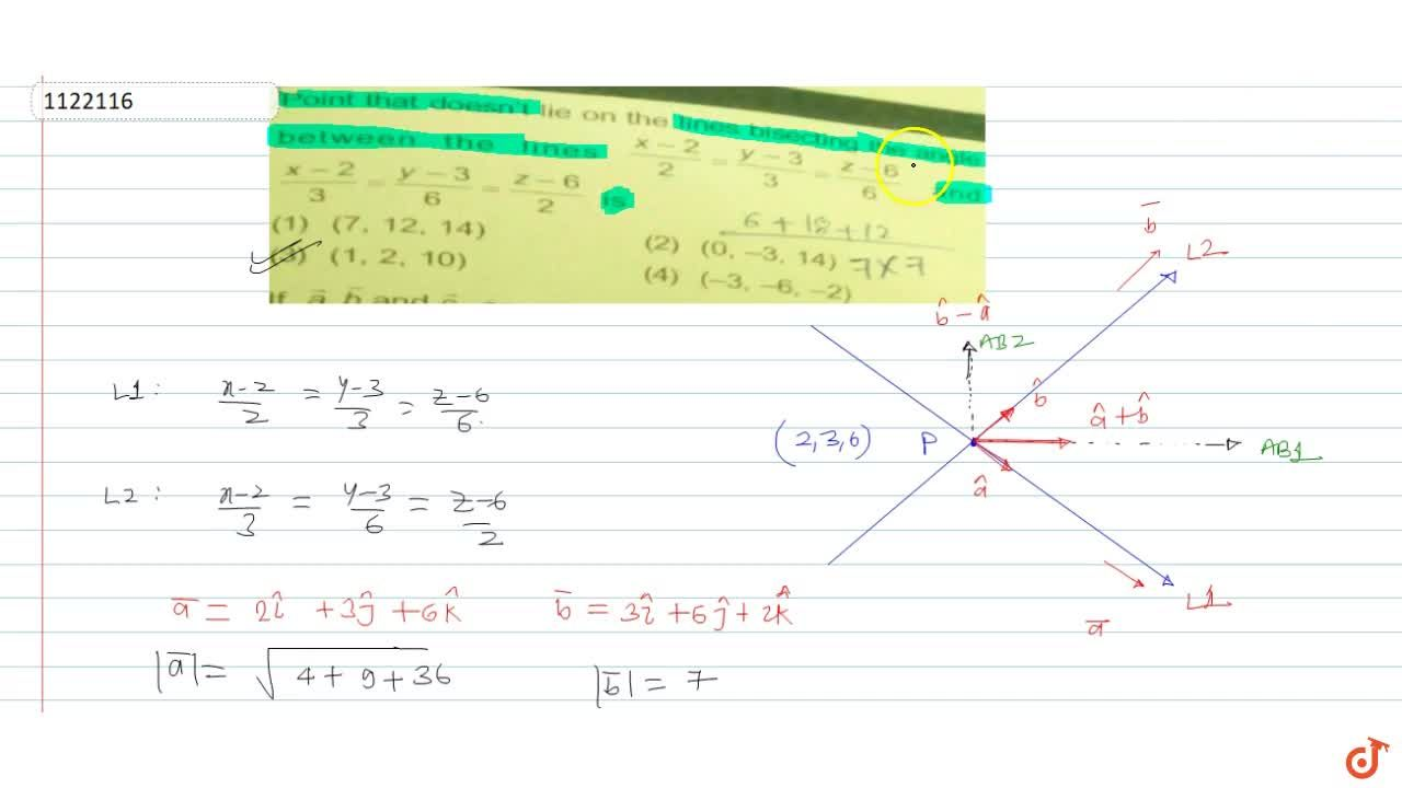 Solution for Point that doesn't lie between the lines  (x-2) ,