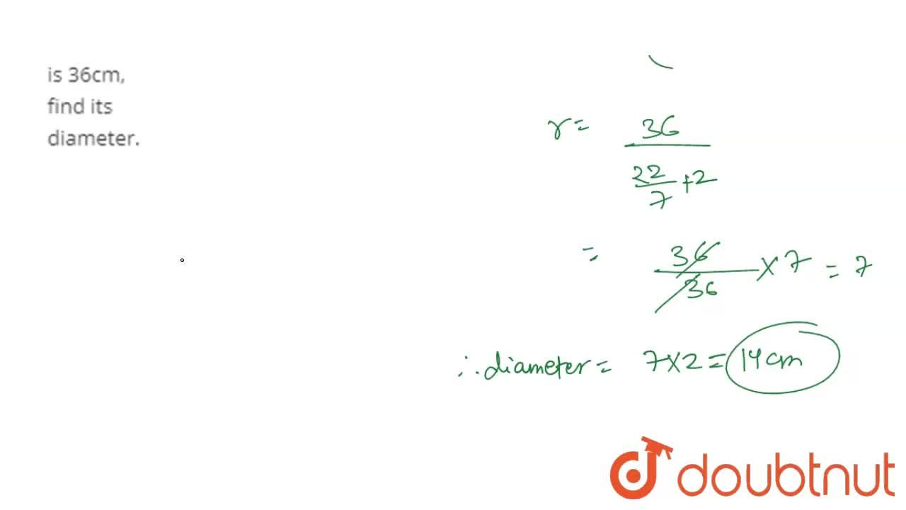 Solution for If the perimeter of a semicircular protractor is 3