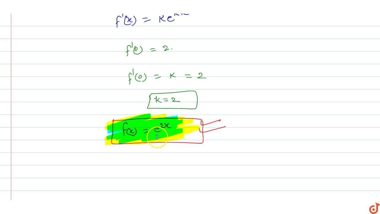 Solution for Let f:RtoR be a function given by f(x+y)=f(x)f(