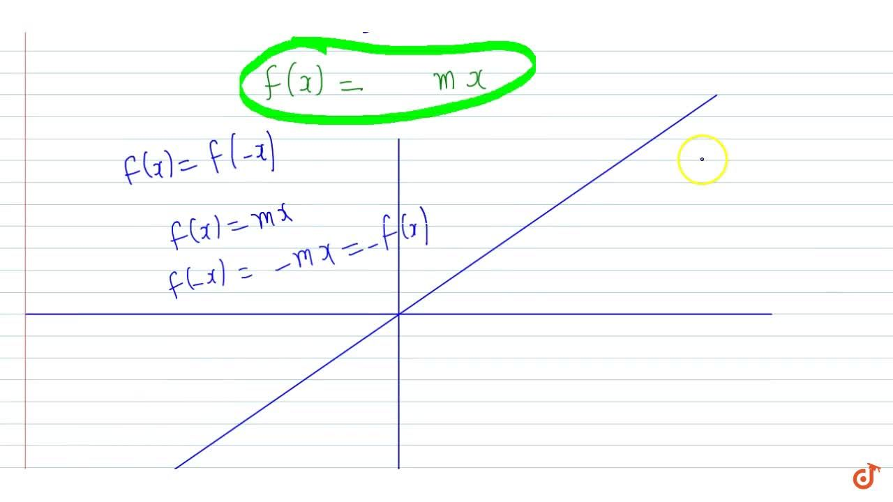 If a real valued function f(x) satisfies the equation f(x +y)=f(x)+f (y) for all x,y in R then f(x) is
