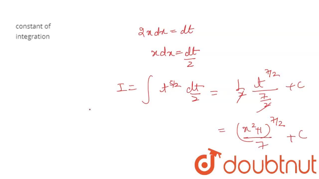 Solution for What is int (x^(2) + 1)^((5),(2))x dx equal to ?