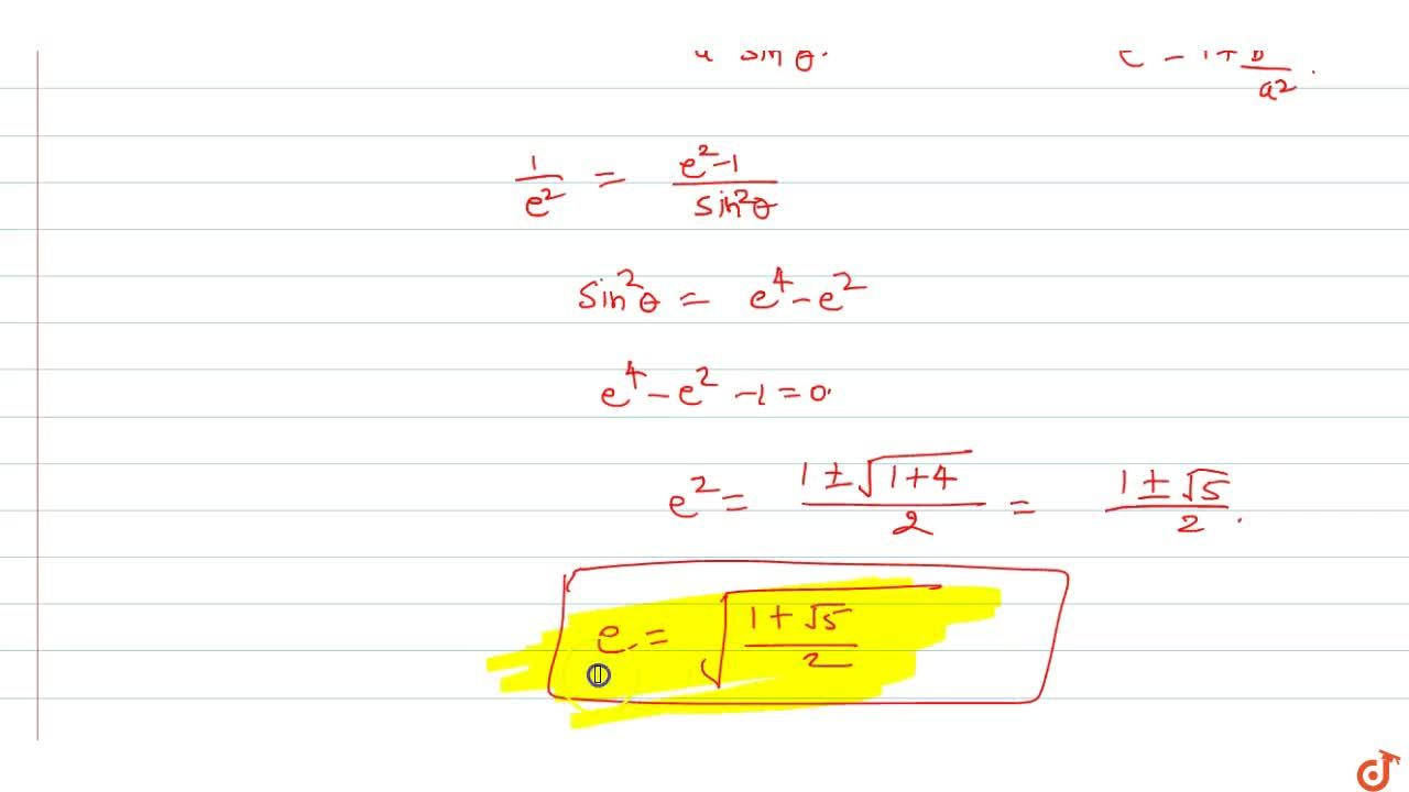 Solution for If normal to hyperbola x^2,a^2-y^2,b^2=1 drawn a
