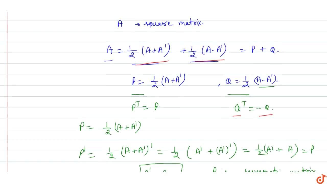 Solution for Prove that every square matrix can be uniquely exp